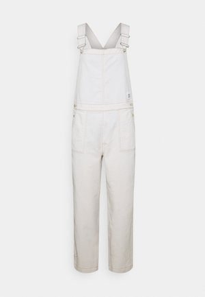 DUNGAREE WIDE LEG CROPPED LENGTH - Dungarees - multi/off-white