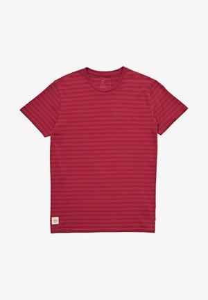 T-shirt print - rhubarb