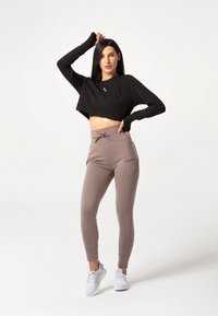 carpatree - BELLE SWEATPANTS - Verryttelyhousut - brown - 1