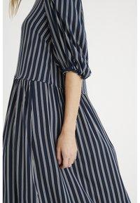 InWear - VIKSA LONG DRESS - Day dress - marine blue stripe - 3