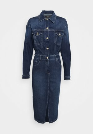 Robe en jean - blue vintage