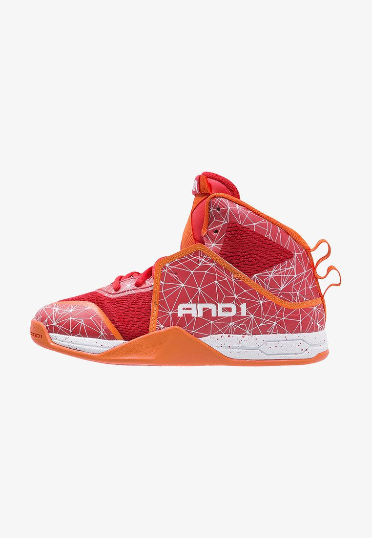 AND1 - HAVOK - Basketball shoes - red/white