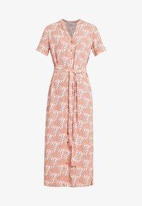 PIECES Tall - PCLIANNA LONG  DRESS - Maxi dress - light pink - 5