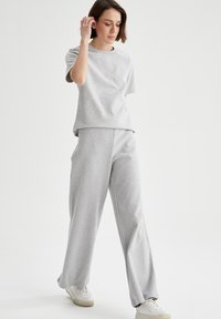 DeFacto - Trousers - grey - 1