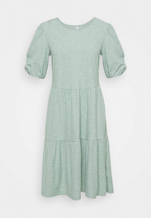 ONLNELLA SHORT DRESS - Jumper dress - chinois green