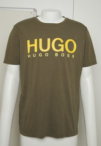 HUGO - DOLIVE - Triko spotiskem - green - 4