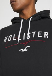 Hollister Co. - TECH LOGO - Sweatshirt - black - 3