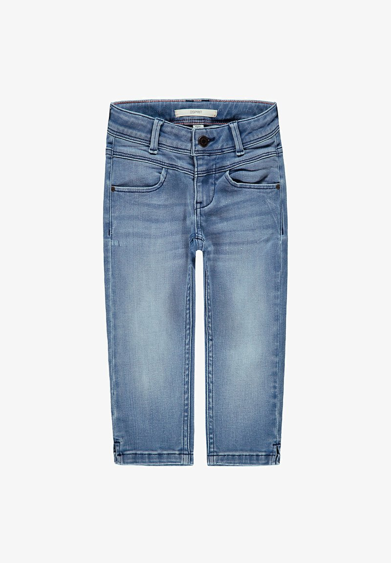 Esprit - FASHION - Straight leg jeans - blue light washed