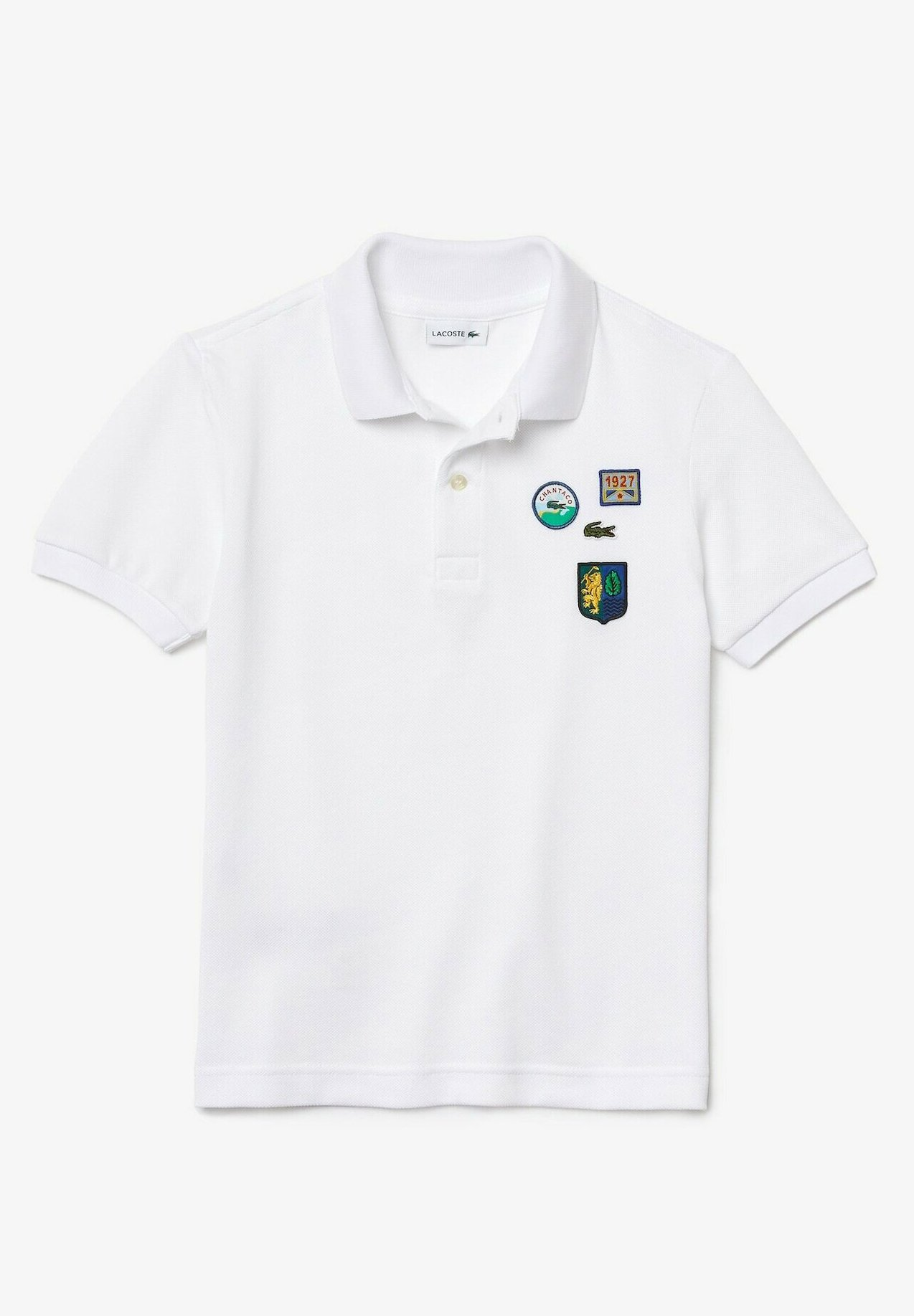 Kinder Poloshirt - weiß