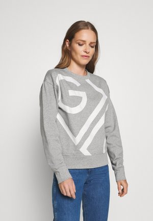 ICON C NECK - Sweater - grey