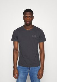 Lee - T-shirts - washed black - 0