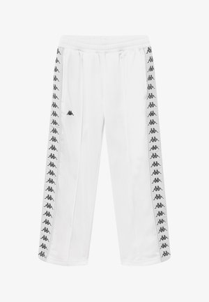 GELANIA - Tracksuit bottoms - bright white