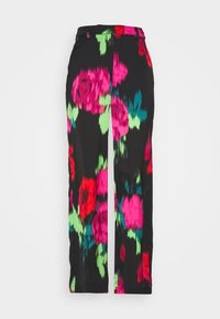 Who What Wear - WIDE LEG PANT - Trousers - multicolor - 4