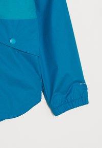 Columbia - RAINY TRAILS JACKET - Outdoor jacket - fjord blue - 2