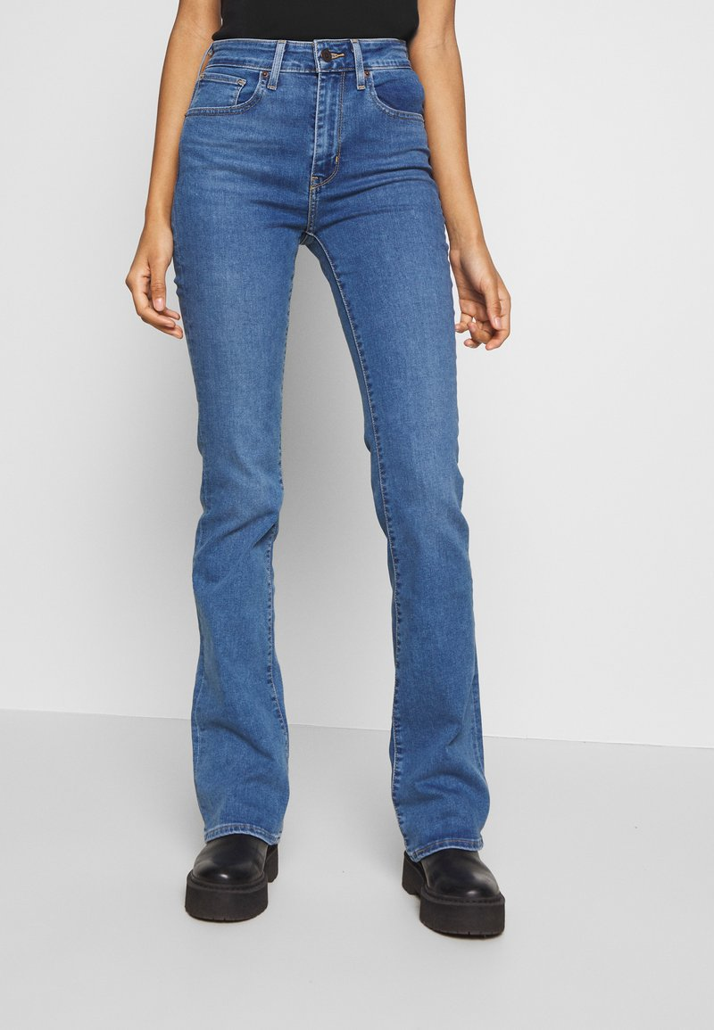 Levi's® - 725 HIGH RISE BOOTCUT - Jeans bootcut - blue denim