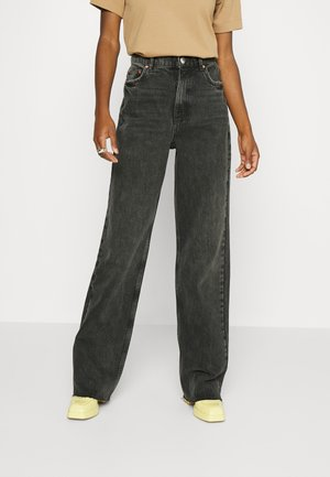 IDUN - Jeans Tapered Fit - washed black