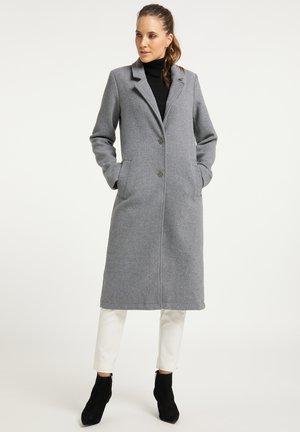 Classic coat - hellgrau melange