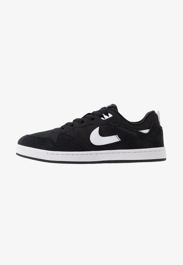 ALLEYOOP UNISEX - Skate shoes - black/white