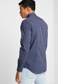 Tommy Hilfiger Tailored - PRINT CLASSIC SLIM - Shirt - blue - 2