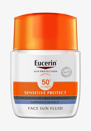 SONNENSCHUTZ SUN SENSITIVE PROTECT FACE FLUID LSF 50+ - Sun protection - -