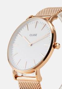 Cluse - BOHO CHIC - Hodinky - rose gold-coloured/white - 4