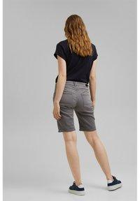 Esprit - Denim shorts - grey medium washed - 4