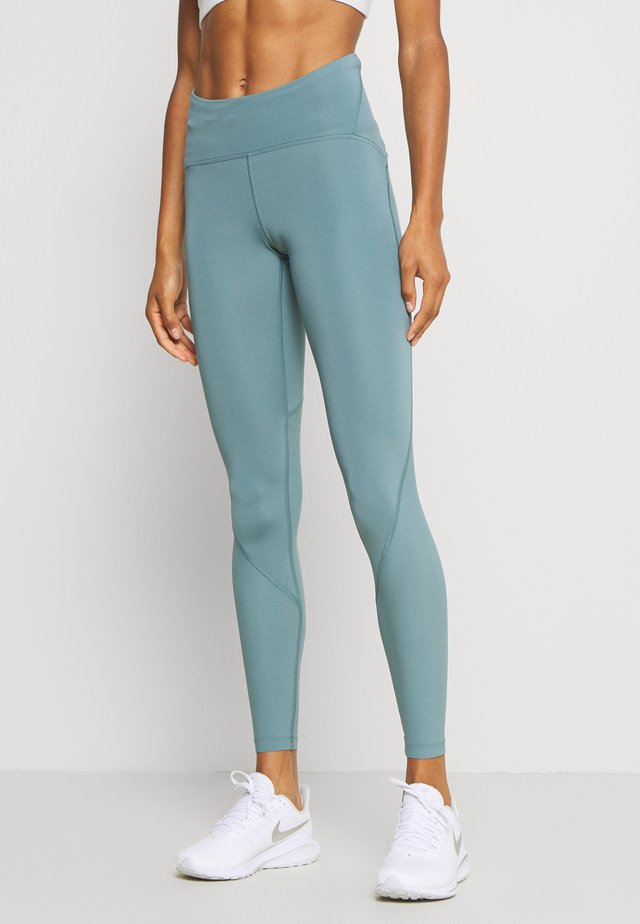 FLY FAST - Leggings - lichen blue