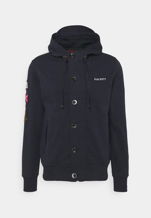 RALLY - Zip-up sweatshirt - navy