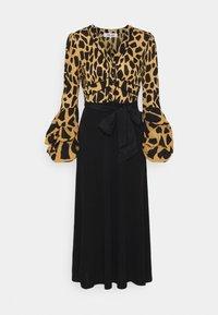 Diane von Furstenberg - NANCY DRESS - Cocktail dress / Party dress - large natural/black - 4