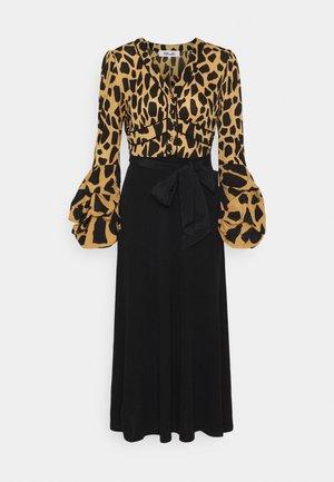 NANCY DRESS - Cocktail dress / Party dress - large natural/black