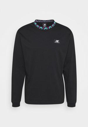 ATHLETICS TERRAIN - T-shirt à manches longues - black