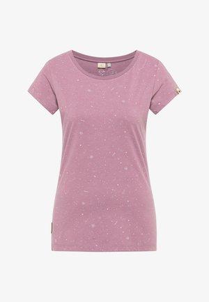 B ORGANIC - Print T-shirt - lilac