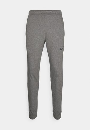 PANT TAPER - Trainingsbroek - charcoal heather/black