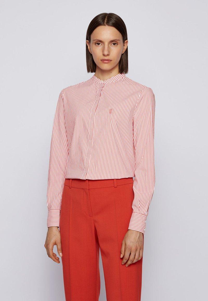 BOSS - BEFELIZE - Button-down blouse - dark orange