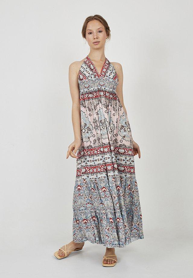 Maxi dress - rosa, multicolor