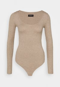 Even&Odd - BODYSUIT - Trui - dark tan - 4
