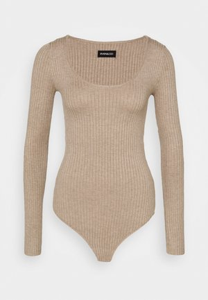BODYSUIT - Pullover - dark tan