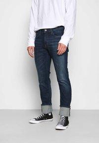 Tommy Jeans - SCANTON SLIM - Slim fit jeans - queens dark blue - 0