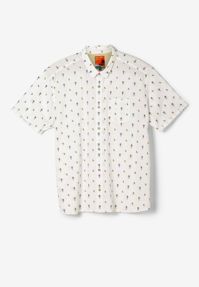 Shirt - off-white dobby