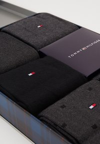Tommy Hilfiger - SOCK BIRDEYE GIFTBOX 5 PACK - Strumpor - black