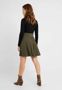 Anna Field Petite - A-line skirt - olive night - 2