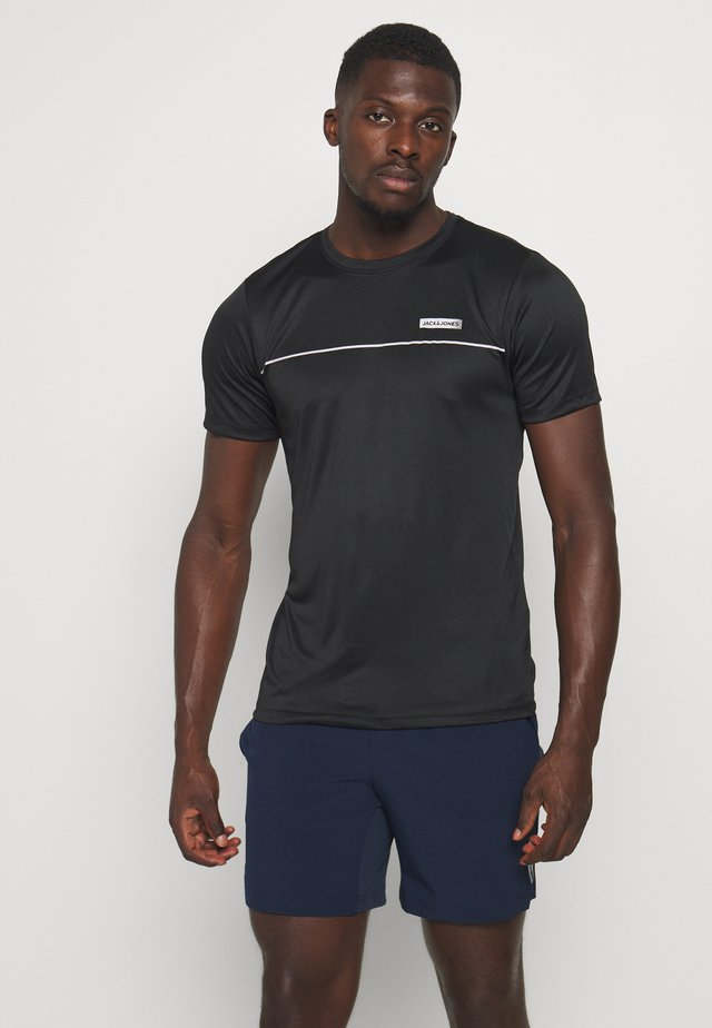 JCOZSS PERFORMANCE TEE - T-shirt con stampa - black