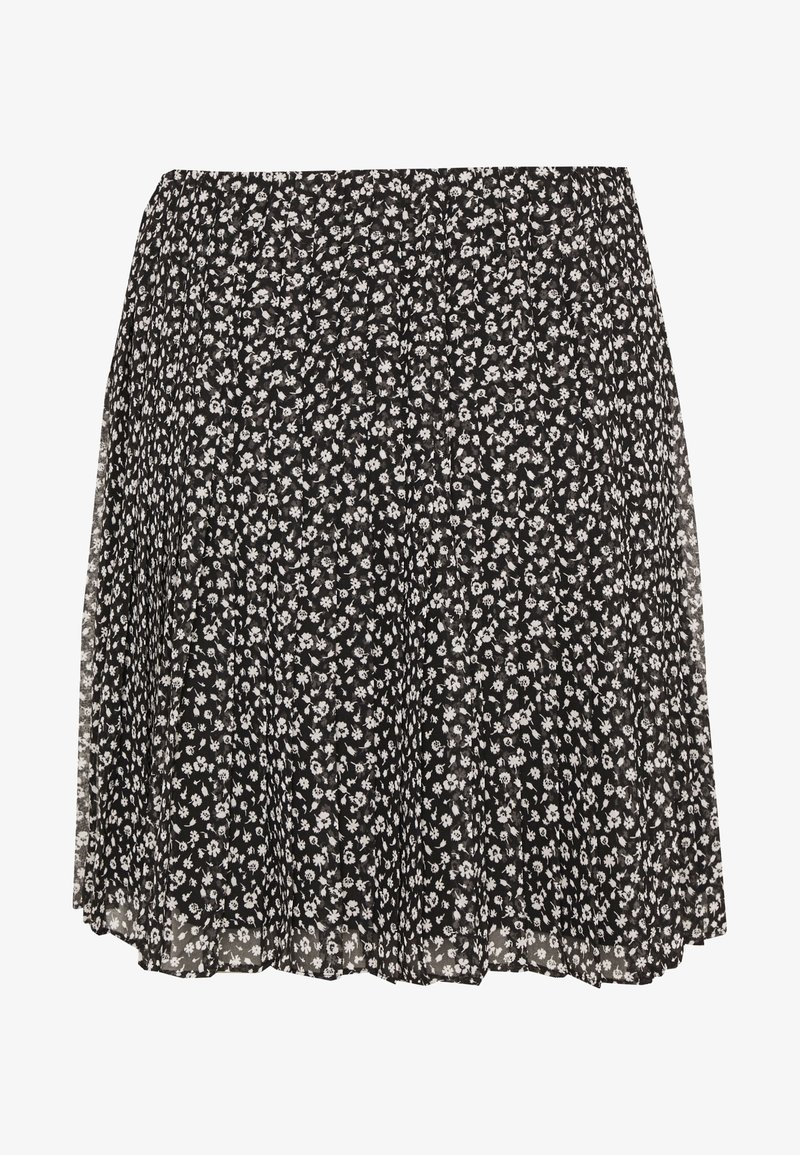 Hollister Co. - PLEATED SKIRT - A-line skirt - black