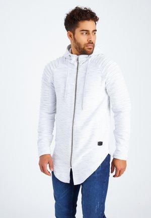 Sweater met rits - grau