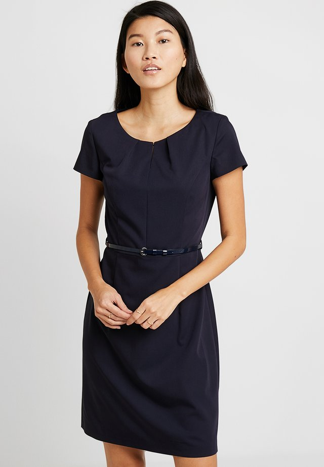 Shift dress - dark sapphire