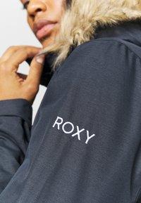 Roxy - JET SKI SOLID - Snowboard jacket - true black - 6