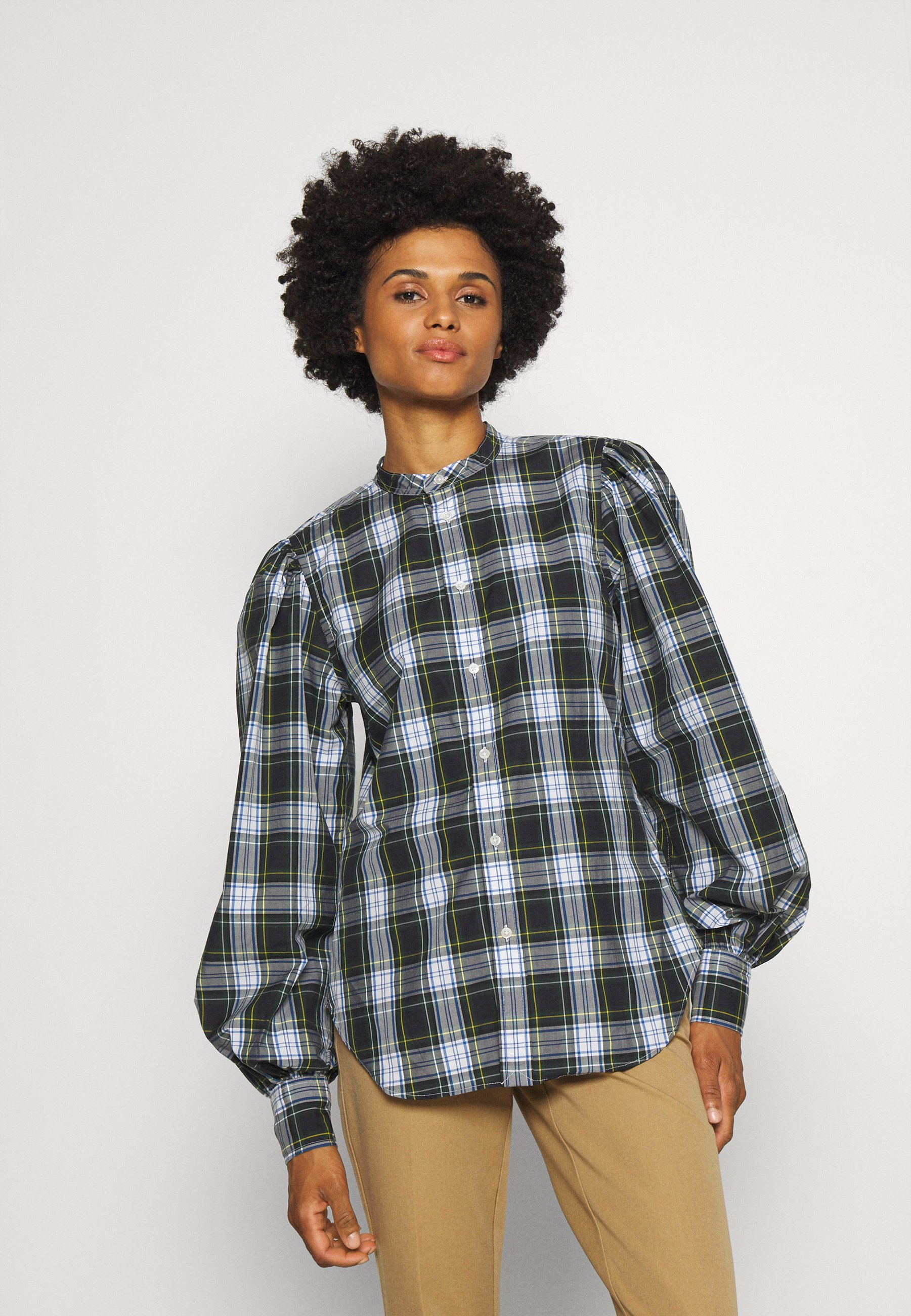 Donna LONG SLEEVE BUTTON FRONT - Camicia