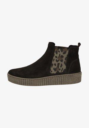Classic ankle boots - schwarz/leo 37