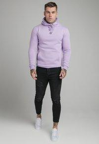 SIKSILK - CORE OVERHEAD HOODIE - Sweater - lilac - 1