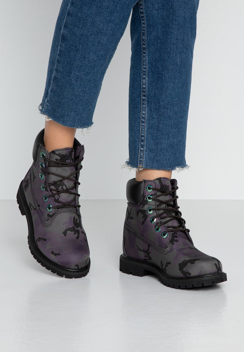 Timberland - 6IN PREMIUM BOOT - Lace-up ankle boots - black